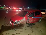 Motorista perde controle de veículo e bate em proteção na BR-364
