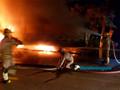 Frota de ônibus deixou de circular na noite de quarta-feira, após incêndio