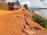 Trechos da Estrada do Belmont e do Ramal Maravilha seguem com risco de desmoronamento