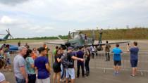 Vídeo: Base Aérea abre os portões no Dia das Crianças