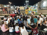Crianças e adolescentes participam de iniciação teatral coordenada pela Semur