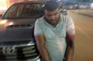Polícia prende ladrão com caminhonete roubada da CUT