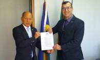 Deputado Federal Coronel Chrisóstomo garante helicóptero para o Estado