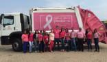 Caminhões da Marquise entram na onda rosa da luta contra o câncer de mama