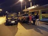 Dupla é presa pela PRF com caminhonete clonada