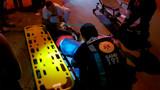 Motorista de aplicativo atropela motociclista após avançar preferencial