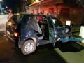 Motorista tem trauma na cabeça durante grave acidente entre carros em cruzamento