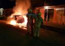 Vídeo: Carro é incendiado em Porto Velho após briga em festa