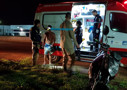 Jovem embriagado cai na BR-364 ao passar por quebra-molas