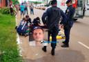 Morre motociclista que invadiu preferencial e foi atingido por viatura
