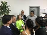 Em missão oficial na Bolívia, Jaqueline Cassol debate Revalida com estudantes e médicos brasileiros