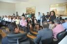 Joelna Holder participa de reunião na Prefeitura com membros de comunidades para debater problemas de Porto Velho