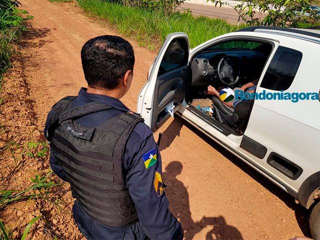 Polícia encontra corpo de homem em carro na BR-364