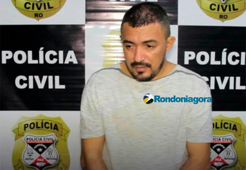 Polícia de Rondônia prende chefe de organização criminosa que figurava na lista dos mais procurados no Ceará