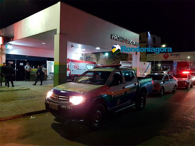 Homem é socorrido após levar várias facadas em Candeias do Jamari
