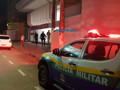Fumaça em agência bancária mobiliza equipes dos Bombeiros e PM