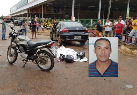 Motociclista morre em cruzamento de Porto Velho após comemorar aniversário