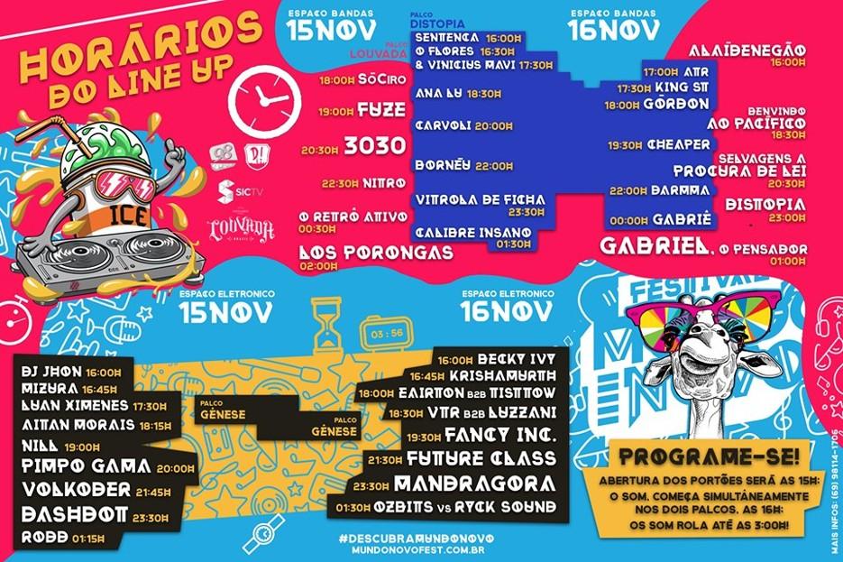 Festival em Porto Velho com Gabriel o Pensador, Mandragora, 3030, Selvagens à Procura de Lei e mais 30 atrações