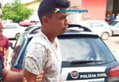 Vídeo: Preso acusado de estuprar e matar idosa em Porto Velho