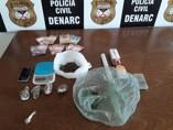 Acadêmico é preso com drogas na Capital