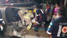 Motorista fica preso às ferragens em grave acidente na Capital; veja vídeo do resgate