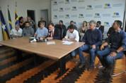 Prefeito anuncia diversas obras e investimentos para a Capital