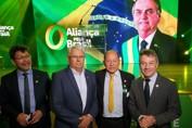 Deputado Federal Coronel Chrisóstomo participa da 1ª convenção do partido Aliança pelo Brasil
