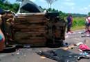 Quatro moradores de Porto Velho morrem em acidente no Mato Grosso do Sul