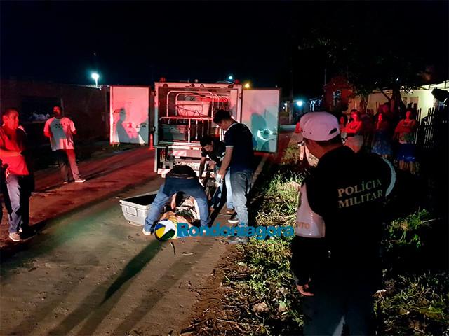Vídeo: Motorista foge após atropelar e matar pedestre em Porto Velho