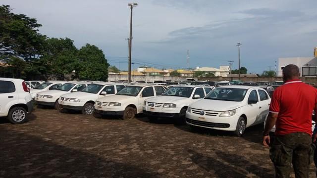 Governo promove o 2º Leilão de veículos inservíveis do Estado