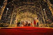 Espetáculo de cores marca o Natal de Luz do Palácio Rio Madeira