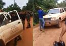 Vídeos comprovam invasões no ramal Soldado da Borracha e mostram equipe do ICMBIO ameaçada e impedida de sair do local