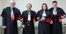 Nova cúpula diretiva do TJRO toma posse para o biênio 2020/2021