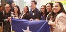 Joelna Participa de Convenção do MDB em Brasília