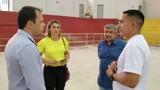 Cacoal: Deputado Eyder Brasil fiscaliza emenda para o Ginásio Ronaldo Aragão