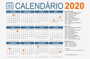 Conheça os feriados e pontos facultativos de 2020 nos municípios de RO