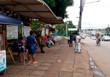 Sem receber salários, trabalhadores paralisam transporte coletivo na Capital