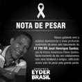 Deputado Eyder Brasil lamenta morte do tenente da PM José Henrique Santos