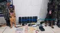 Polícia prende homem com 10 kg de maconha na Zona Sul