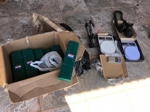 Polícia Militar em Cacoal apreende grande quantidade de droga