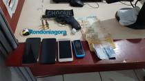 Batalhão de choque prende seis no Orgulho do Madeira com arma e drogas