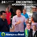Rondônia assume Aliança pelo Brasil e avança com registro de apoiadores