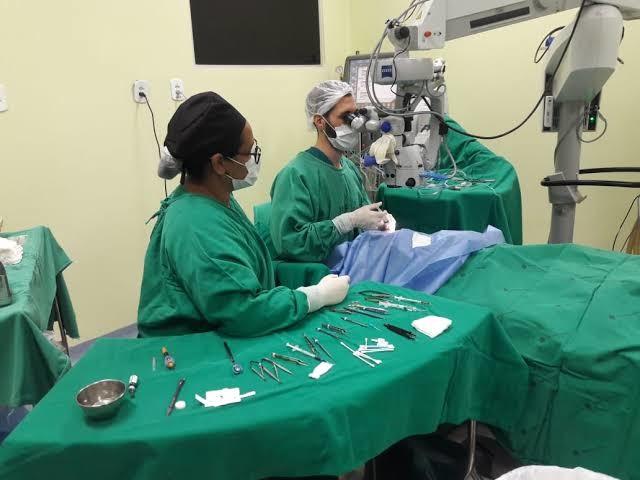 Mutirão para zerar fila de cirurgias de catarata e ortopédicas é lançado no interior