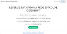 Sistema de reserva de vagas em Rondônia volta a funcionar