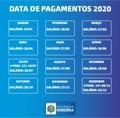 Governo antecipa o pagamento de janeiro e divulga calendário para 2020
