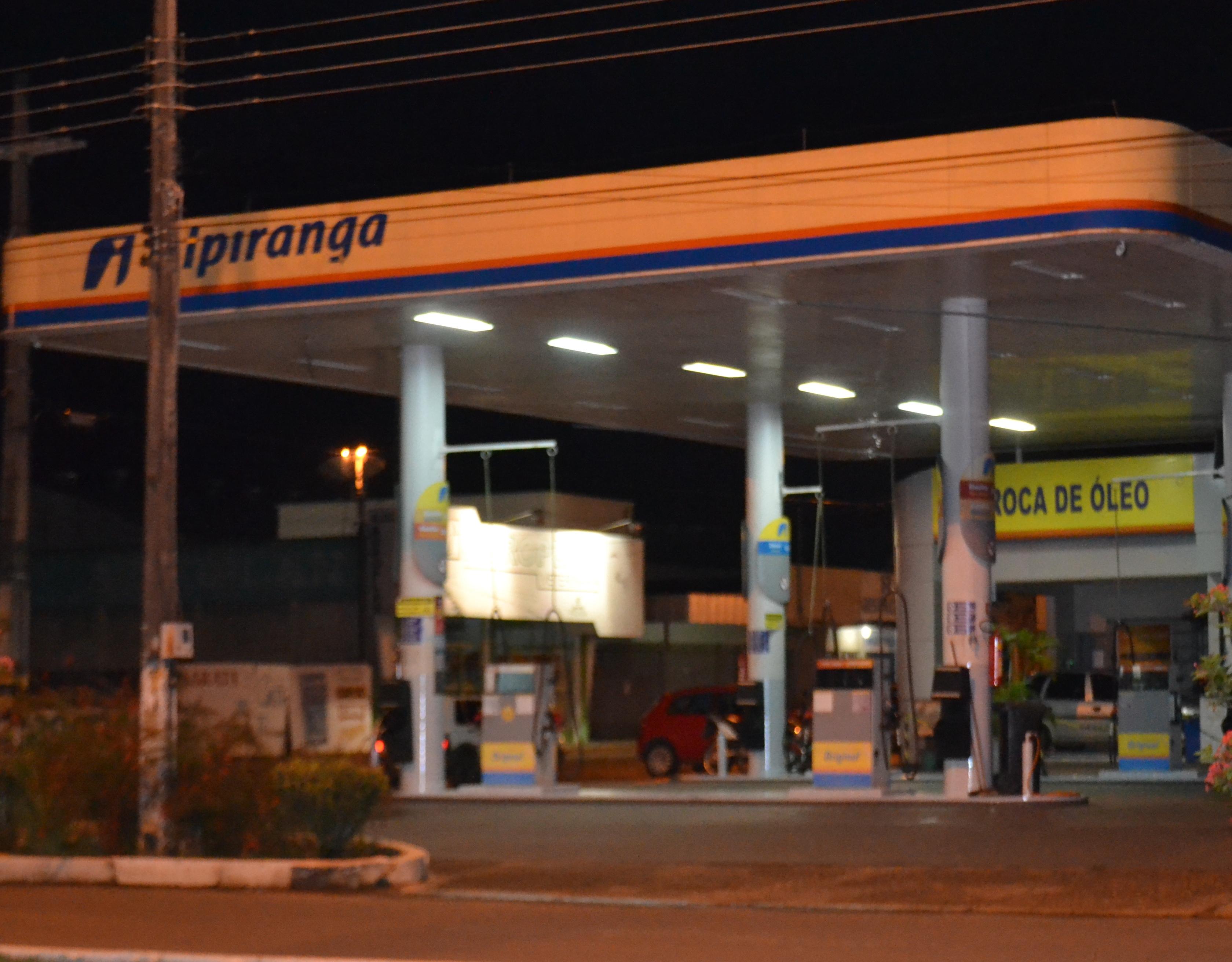 Armado, ladrão leva R$ 1.500 de posto de combustível