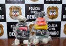 Dupla é presa com mais de 20 quilos de cocaína