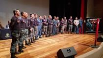 Deputado Eyder Brasil participa da formatura de policiais da Força Tática