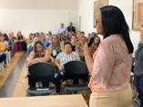 Transporte escolar: Vereadora Joelna Holder acompanha evento de capacitação para gestores
