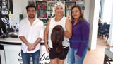 Empresária que doa perucas para pacientes fala de gratidão em proporcionar momentos felizes